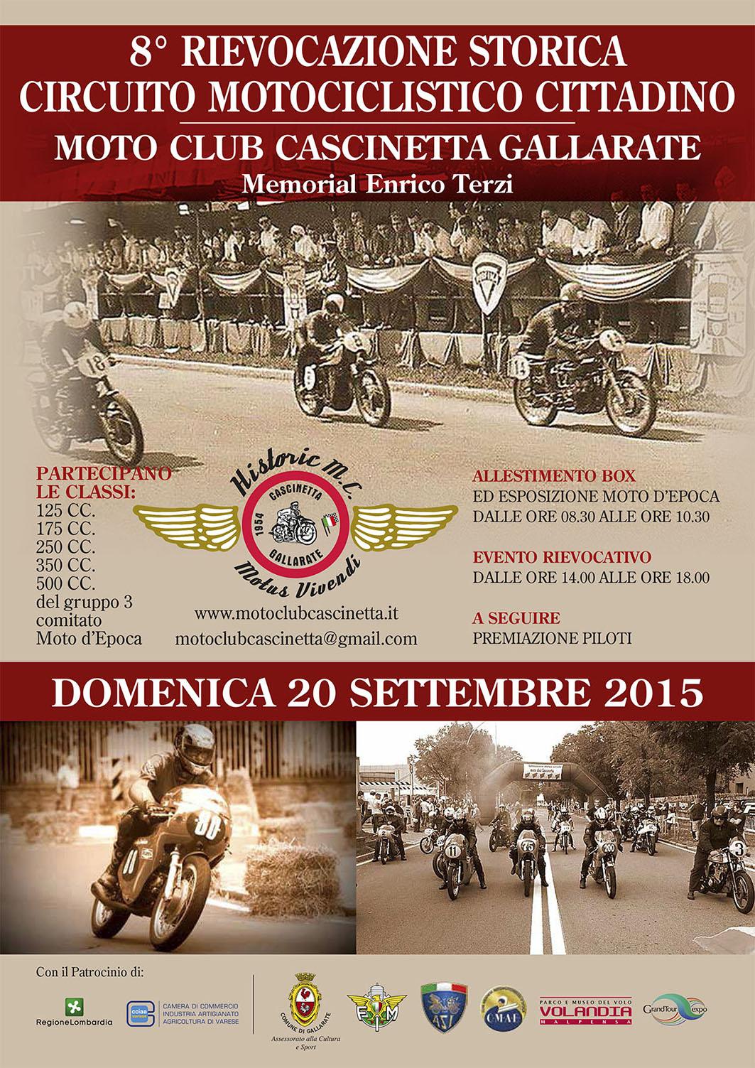 LOCANDINA MOTOCLUB CASCINETTA 2015
